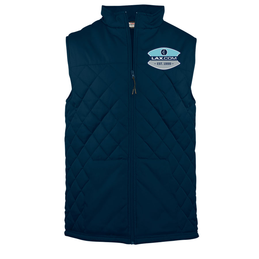 Lax.com Quilted Vest